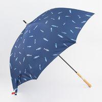 """Зонт-трость """"Рыбки на синем"""""""