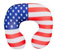 """Подушка под шею """"Флаг. Америка"""" (35х35 см; арт. Апш05фла01)"""