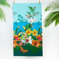 "Полотенце вафельное ""Багамы"" (80х150 см)"