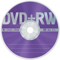 Диск DVD+RW 4.7Gb 4x Data Standard Bulk 50