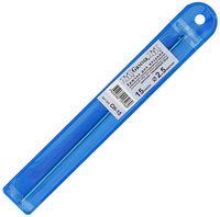 Крючок для вязания (синий; металл; 2.5 мм)