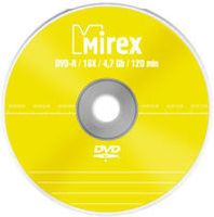 Диск DVD-R 4.7Gb 16x Mirex CakeBox 100