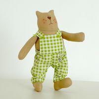 "Кукла ""Кот"" (в комбинезоне)"