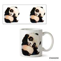 """Кружка """"Панда"""" (белая; арт. 0509)"""