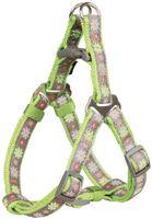 """Шлея для собак """"Modern Art Harness Blooms"""" (размер ХS-S, 30-40 см, зеленый)"""