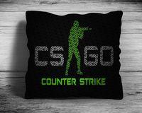 """Подушка """"Counter Strike Go"""" (арт. 5; 28х28 см)"""