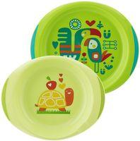 Набор посуды (миска, тарелка; арт. 00016002200000)