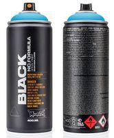 """Краска аэрозольная """"Black. Light Blue"""" (голубая; 400 мл)"""