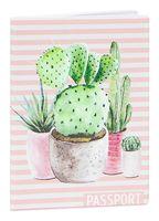 """Обложка для паспорта """"Cactus"""""""