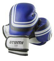 Перчатки боксёрские LTB-16101 (S/M; синие; 12 унций)