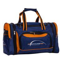 Спортивная сумка 6067-1 (сине-оранжевая)