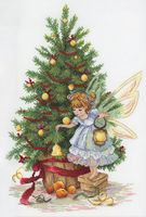 """Вышивка крестом """"Новогодняя фея"""""""