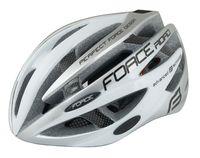 """Шлем велосипедный """"Road"""" (бело-серый; р. L-XL)"""