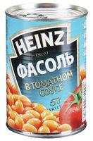 """Фасоль консервированная """"Heinz. В томатном соусе"""" (415 г)"""