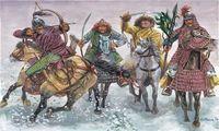 """Набор миниатюр """"Монголы"""" (масштаб: 1/32)"""