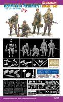 "Набор миниатюр ""Germania Regiment France 1940"" (масштаб: 1/35)"