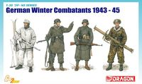 "Набор миниатюр ""German Winter Combatants 1943-45"" (масштаб: 1/35)"
