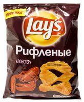"""Чипсы картофельные рифленые """"Lay's. Лобстер"""" (80 г)"""