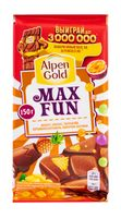 "Шоколад молочный ""Alpen Gold. Max Fun. Tropic Mix"" (160 г)"