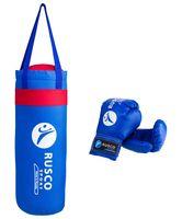 Набор для бокса (4 унции; синий)