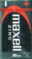 "Батарейка 9V 6LF22/6LR61 ""Крона"" Maxell цинковая"