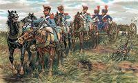 """Набор миниатюр """"Французская линейная артиллерия"""" (масштаб: 1/32)"""