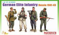 "Набор миниатюр ""German Elite Infantry, Russia 1941-43"" (масштаб: 1/35)"