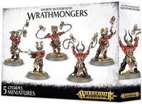"""Набор миниатюр """"Warhammer AoS. Khorne Bloodbound Wrathmongers"""" (83-20)"""