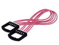 Эспандер плечевой 5 струн (подростковый; розовый)