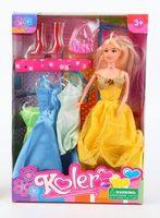 """Кукла """"Koler"""" (с набором одежды)"""