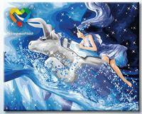 """Картина по номерам """"Телец"""" (400x500 мм; с люминесцентной краской; арт. YH4050002)"""