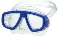 Маска для плавания 431 (ПВХ; синяя)