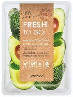 """Тканевая маска для лица """"Fresh To Go Avocado Mask Sheet"""" (22 г)"""