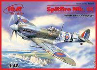 """Британский истребитель ІІ Мировой войны """"Спитфайр Mk. IX"""" (масштаб: 1/48)"""