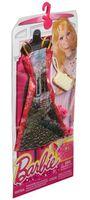"""Одежда для куклы """"Барби. Гламур. Платье с рисунком и аксессуарами"""" (арт. CFX99)"""