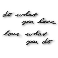 "Надпись декоративная на стену ""Do What You Love"""