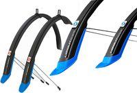 """Комплект щитков для велосипеда """"Ubiquit 46 SDL"""" (чёрно-синий)"""