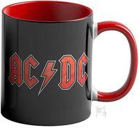 """Кружка """"AC/DC"""" (красная; арт. 3635)"""