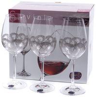 """Бокал для вина стеклянный """"Viola"""" (6 шт.; 350 мл; арт. 40729/Q9044/350)"""