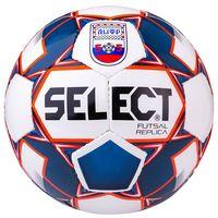 """Мяч футзальный Select 850618 """"Futsal Replica АМФР"""" №4 (белый/синий/красный)"""