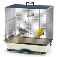 """Клетка для птиц """"Primo 40"""" (46x32,5x48,5 см; серебристая)"""