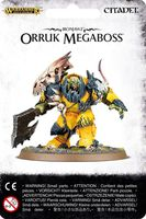 Warhammer Age of Sigmar. Ironjawz. Orruk Megaboss (89-26)