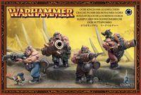 """Набор миниатюр """"Warhammer FB. Ogre Kingdoms Leadbelchers"""" (95-08)"""