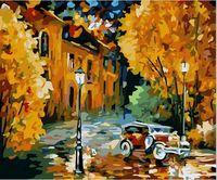 """Картина по номерам """"Осенний вечер"""" (400х500 мм)"""