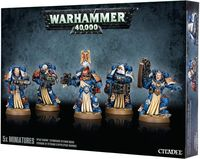 Warhammer 40.000. Space Marines. Sternguard Veteran Squad (48-19)