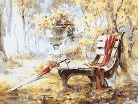 "Картина по номерам ""Дождливый парк"" (400х500 мм)"