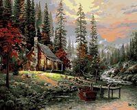 "Картина по номерам ""В горах"" (400х500 мм)"