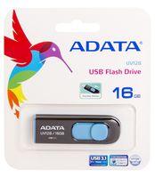 USB Flash Drive 16Gb A-Data UV128 USB 3.0 (Black/Blue)