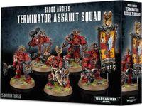 """Набор миниатюр """"Warhammer 40.000. Blood Angels Terminator Assault Squad"""" (41-13)"""