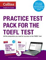 Practice Test Pack for the TOEFL Test